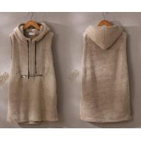 Buy cheap Women Faux Fur Hoodies Vest Pullover Casual Clothes For Female Korea And Japan Trend from wholesalers