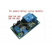 Buy cheap 5v/9v/12V power-delay relay module, fully functional, there are off-delay, on-delay function from wholesalers