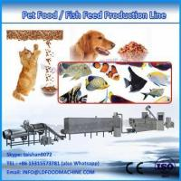 China turnkey extrusion pet food machinery/production line on sale