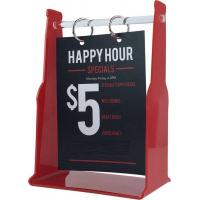 Best Plexiglass Transparent Signs Page Menu Holder Design wholesale