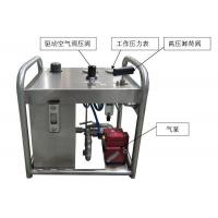 China QST60 pneumatic pressure test pump on sale