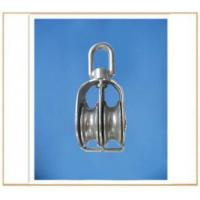 Buy cheap Stainless Steel Double Swivel Eye Pulley from wholesalers