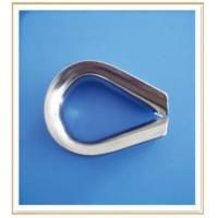 Buy cheap Stainless Steel European Type Wire Rope Thimble from wholesalers