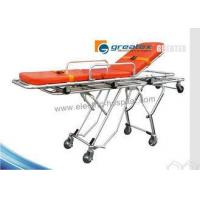 China Hospital Medical Stretcher Base Folding Ambulance Stretcher For Sale on sale