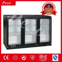 Best 300 L Three-door show refrigerator genuine beer freezer Grocery store freezer for sale wholesale
