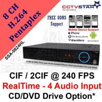 Digital Video Recorder / DVR 8 Channels