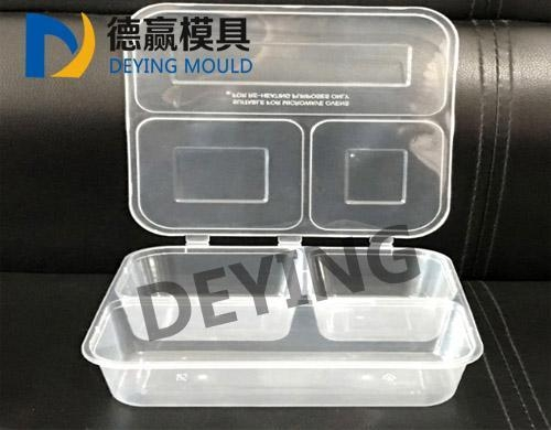 Cheap Multi-grid disposable lunch box mold for sale