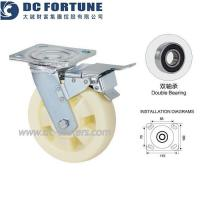 Buy cheap 4/5/6/8 Inch Plastic Trolley Wheels from wholesalers