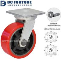 Buy cheap Industrial Heavy Duty Polyurethane Caster Wheels from wholesalers