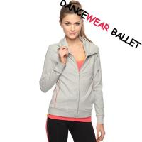 China Professional Fitness Dance Top Jackets on sale