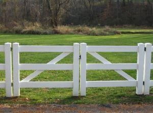Cheap Horse Fence PVC Horse Fence Double Gate (FT-HG02) for sale