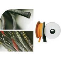 PET flame-retardant woven net tube