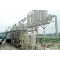 Tire oil refining to diesel equipment