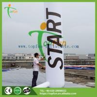 Adv/promotion inflatable Name:5m Event Promotion Inflatable Column With Leds