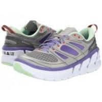 Best Hoka One One Women's Conquest 2 Road Running Shoes - Grey/ Purple wholesale