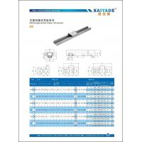 China Shaft type linear guide ProductRectangle wheel linear rail series on sale