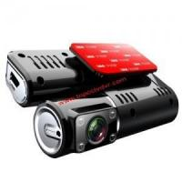 China New HD Dual Camera Car Camcorder Blackbox with Rearview Camera & GPS Logger function I1000 on sale