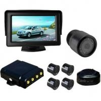 4.3inch Radar rear view parking system
