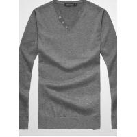 Best Men's Classic Casual V-neck Button Decoration Sweater | Basic Pullover Sweater wholesale