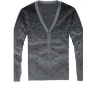 Best Men's Casual | Basic V-neck Single Breasted Wool Cardigan wholesale