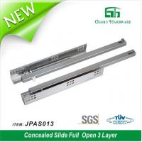 Buy cheap Distributor Top Sales Classic Bottom Mount Undermount Soft Closing Drawer Slide With Clip from wholesalers