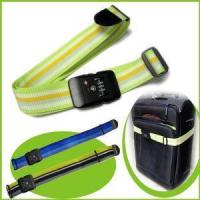 Best Nylon Durable Rainbow Luggage Strap with Combination Lock wholesale