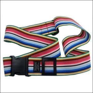 China 6.0 Cm Width Multicolored Webbing Luggage Strap for Airport Sell