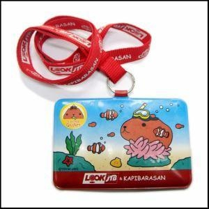 Cheap PVC Card Badge Neck Lanyard for Promotional Gift for sale