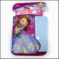 Cheap Cute Card Holder Purple Color Cute Logo Girl Neck Lanyards for sale