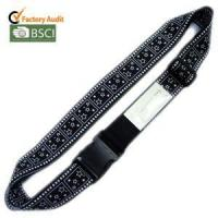 Best Black Travel Bag Straps Luggage Strap with Name Card wholesale