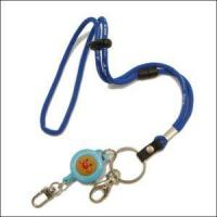 Best Wholesales China Round Jacquard Cord Lanyard with Cartoon Retractable Reels wholesale