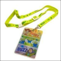 Best Cartoon Lanyard with Thin Card Holder Slim Front Pocket Wallet wholesale