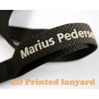 Best Attraction 2-D Silk Printing Logo Neck Lanyard for Fashion Gift wholesale