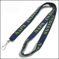 Double Thick Popular Woven Logo Neck Strap