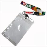 Best Big PVC ID Card Holder Polyester Lanyard Production from Zhanhong wholesale