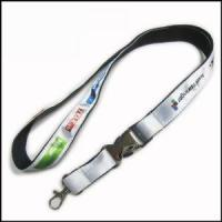 Best Heat-transferred Satin Lanyard for Adverting Gift wholesale