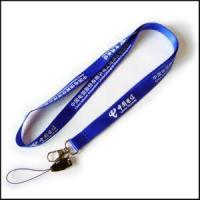 Buy cheap Blue New Style Printing Logo Nylon Lanyard for Card Holder from wholesalers
