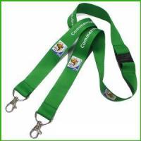 Buy cheap Direct Sale Promotion Lanyard with Two Metal Hooks from wholesalers