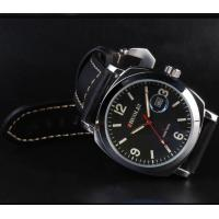 China black leather watch band Watch Band Thp-03 on sale
