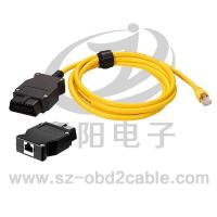 Automobile diagnostical cable OBD-CRYSTAL NETWORK CONNECTOR