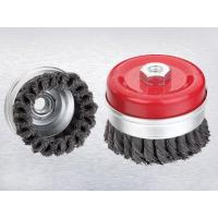 Buy cheap Wire wheel brush with shankWire wheel brush with shank from wholesalers