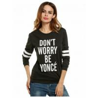China Hoodies Color 3 Casual Round Neck Long Sleeve Print Pullover Sweatshirts Model: ww0a0350 on sale