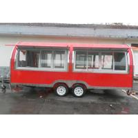 China New style food truck for sale Europe food cart food truck with CE on sale
