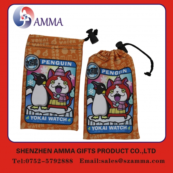 China Microfiber cleaning pouch Hot selling popular high quality wholesale phone pouch