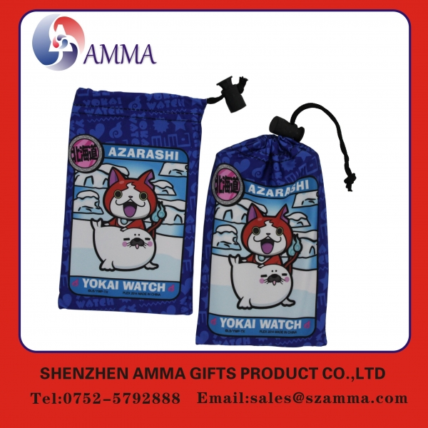 China Microfiber cleaning pouch Hot sales fashionable cell phone pouches