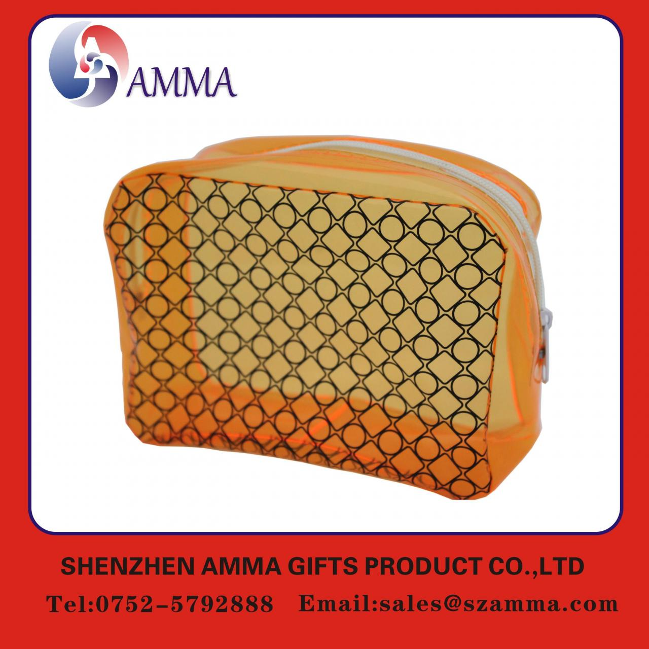 Buy cheap Colorful printing portable PVC zipper bag from wholesalers