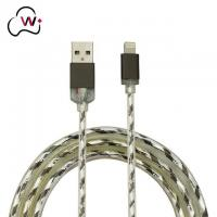 Best Wire Lightning transparent PVC flash cable wholesale