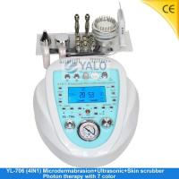 Best Super Diamond Microdermabrasion Series YL-706 (4in1) Microdermabrasion with LCD wholesale