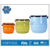 China BL2513 3 Pcs Set Food Storage&Bin Container Stainless Steel Hot Pot on sale