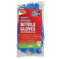 Best SQUEEGEES AND DUSTERS 2-20Nitrile Gloves 12 Pack- Blue wholesale